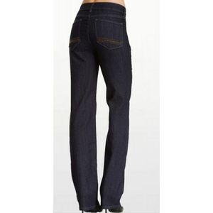 NYDJ EmbellishedMarilyn Straight LegJeans  4
